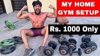 FINALLY - MY NEW HOME GYM SETUP ❤️   Rohit Khatri Fitness