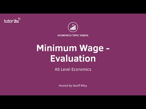 Minimum Wage - Evaluation