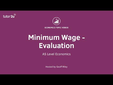 Minimum Wage - Evaluation