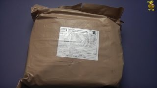 MRE Review - 24hr Estonian Military Ration - Menu 7 (Part 2: Lunch & Dinner)