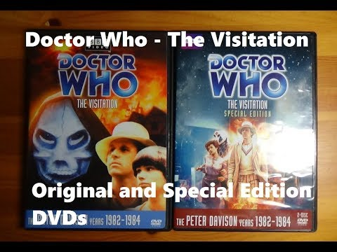 Doctor Who The Visitation - Original and Special Edition DVDs