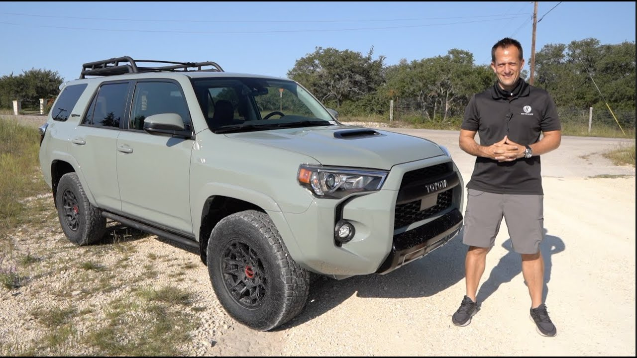 Is The Updated 2021 Toyota 4runner Trd Pro The Best Off Road Suv To Buy Youtube