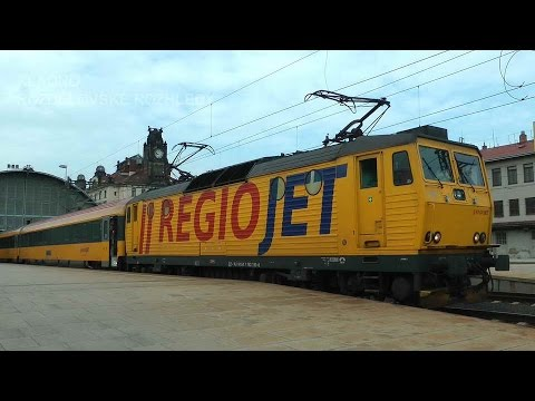 Prague railway pride - Festival železni�ních menšin - Jízdy hrdosti Leo express a Regiojet