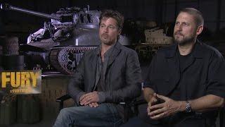 """Брэд Питт и Дэвид Эйер про """"Ярость"""". Интервью """"Индустрии кино"""""""