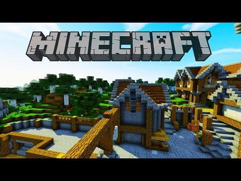Market Area Mansion   Minecraft Survival Let's Play