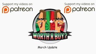 March 2017 Update - Thanks for your support