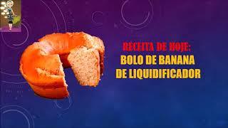 BOLO DE BANANA FÁCIL E FOFINHO