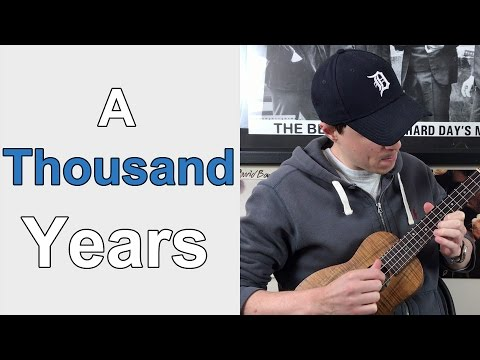 A Thousand Years - Christina Perri || Ukulele Lesson