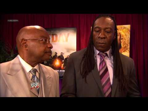 Eve And Theodore Long Show Their Support For Booker T: SmackDown, September 14, 2012