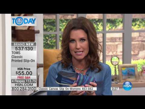 HSN | HSN Today: TOMS Shoes 03.27.2017 - 07 AM