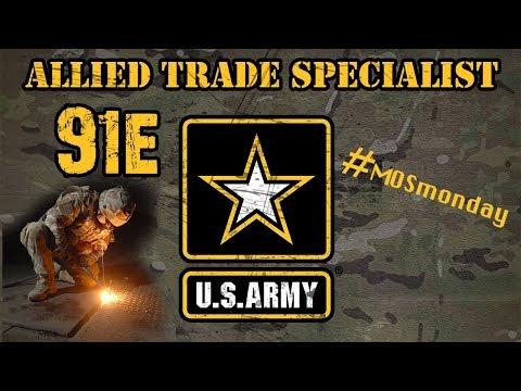 91E | Allied Trade Specialist | Welder / Fabricator
