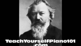 Johannes Brahms - Waltz in A flat, Op.39 No.15 - Piano.wmv