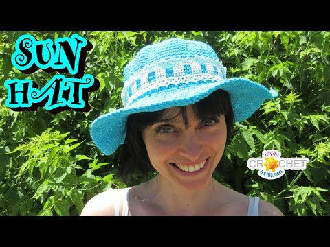 Sweet   Simple Sun Hat for Everyone! cef4f87dbb3