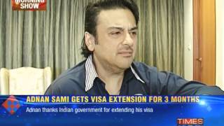 Adnan Sami breaks his silence