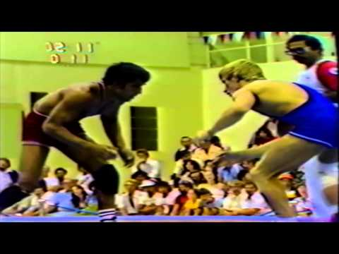 1978 Commonwealth Games: 57 kg Amrik Singh Gill (ENG) vs. Michael Barry (CAN)