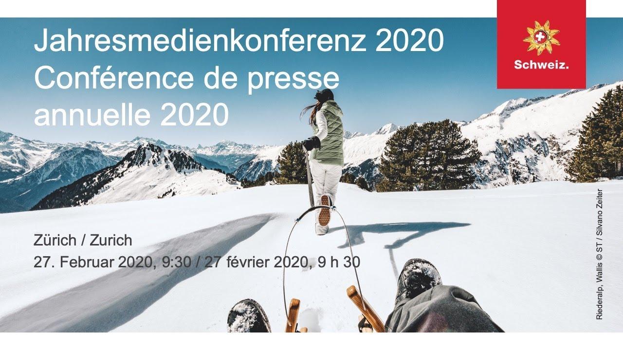 Schweiz Tourismus, Jahresmedienkonferenz / Suisse Tourisme ...