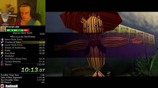 The Legend of Zelda: Majora's Mask Any% Speedrun 1:21:48 (WORLD RECORD)