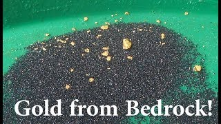 Where to find gold?  Potholes or Bedrock pockets.