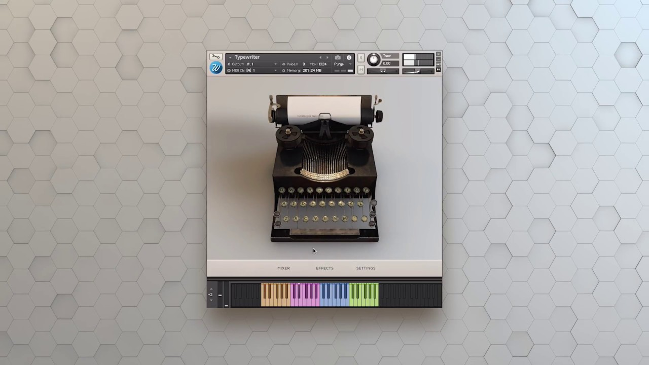 Typewriter - Wavesfactory
