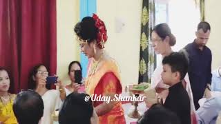 Assamese Actress Amrita Gogoi Marriage Ceremony