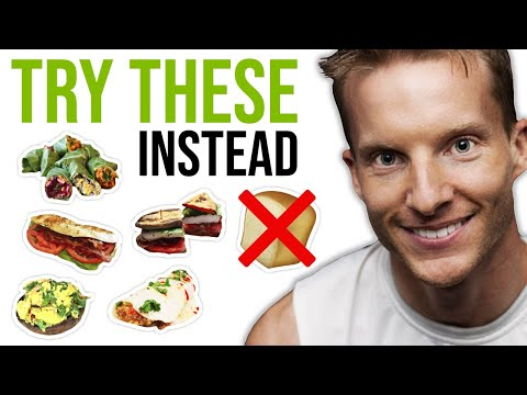 9 Best Bread Substitutes For Sandwiches ❌�� (PALEO AND KETO) | LiveLeanTV
