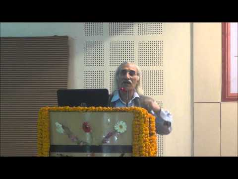 Prof. S. K. Kak, Former Vice Chancellor MMTU-Noida during ICON 2016   @ SMS VARANASI