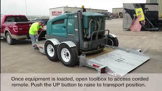 Video still for EZ Tilt Ground Level Loading
