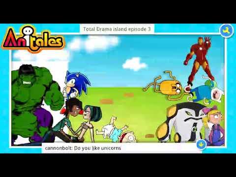 """Anitales: """"Total Drama island episode 3"""" - jake5"""