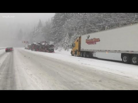 Freezing Temperatures, Lowland Snow Arrive In Western Washington