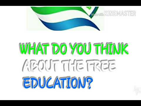 DOCUMENTARY ON FREE EDUCATION IN SIERRA LEONE