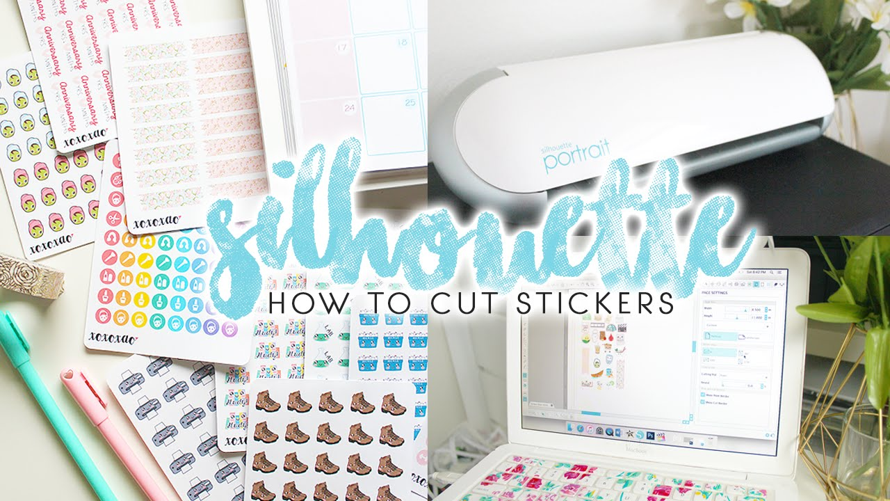 How To Make Planner Stickers Silhouette Portrait