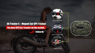 3G Tracker X – Magnet Car GPS Tracker ( Tutorial )