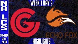 Video CG vs FOX Highlights | NA LCS Summer 2018 Week 1 Day 2 | Clutch Gaming vs Echo Fox download MP3, 3GP, MP4, WEBM, AVI, FLV Juni 2018
