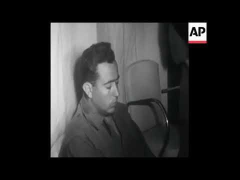 فيديو نادر ووحيد لواقعة اسر حسنى مبارك فى المغرب اثناء حرب الرمال