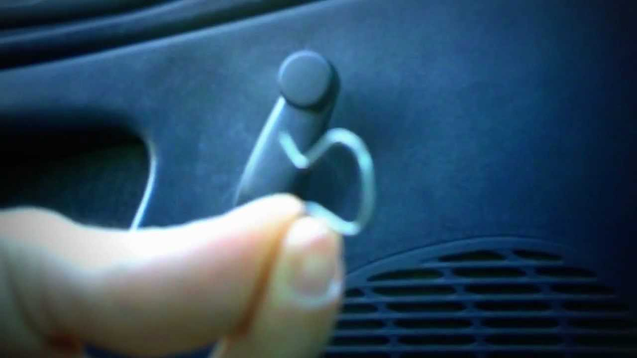 Window Crank Removal Trick Youtube