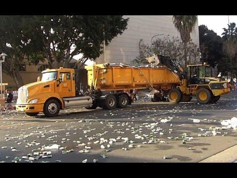 The 2017 Los Angeles Marathon Cleanup