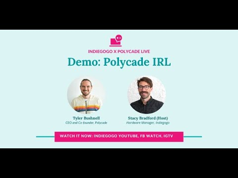 Polycade Demo! We React To Polycade's Tyler Bushnell As He Demos A Cool Retro Gaming Experience