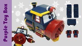 로봇트레인 빅토르 변신 기차 장난감 | 로봇트레인 파트2 빅토르 Robot Train Toy VICTOR - 퍼플토이박스