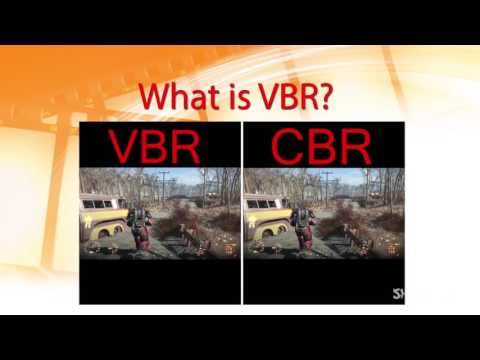 Difference Between CBR&VBR tutorial :SIFT