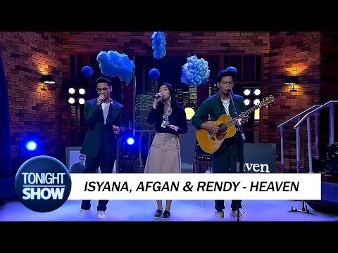 Isyana, Afgan & Rendy - Heaven (Special Performance)