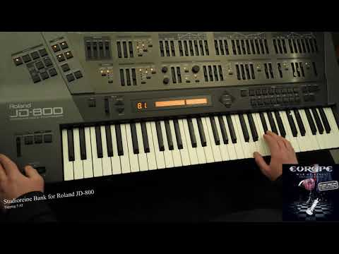 [Roland JD-800] Demo Patch : Tapping 5 AT