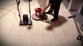 Tile Master Machine -  How to deep textured porcelain with Oscillating Technology