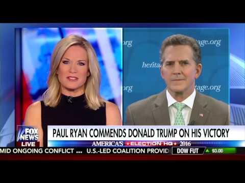 Heritage President Jim DeMint on FNC's 'America's Newsroom' on Trump Election