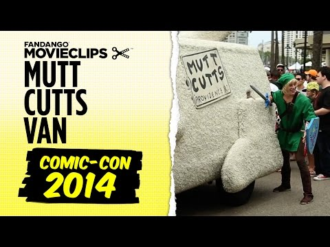 Comic-Con 2014 - Dumb and Dumber To: Mutt Cutts Van with Marcus Johns (2014) HD