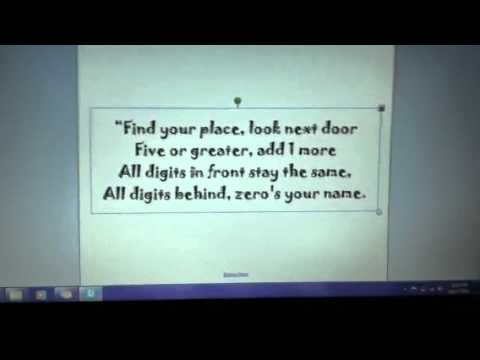 Rounding rap simple - YouTube