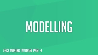PES2018 | Modelling (Face Making Part 4)