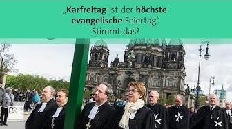 Ist Karfreitag der höchste evangelische Feiertag? #fragBR24💡 | BR24