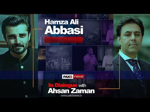 Hamza Ali Abbasi Interview Latest 2020 Teaser Promo - In Dialogue with Ahsan Zaman - PAK5 NEWS
