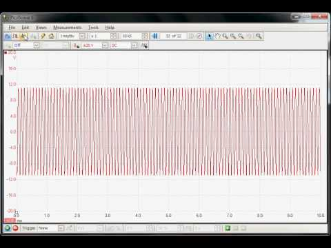 How To Use An Oscilloscope To Measure The Frequency Response Of An Audio Amplifier