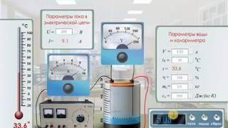 """Лабораторная работа по физике """"Определение удельной теплоемкости воды""""http://mediadidaktika.ru"""